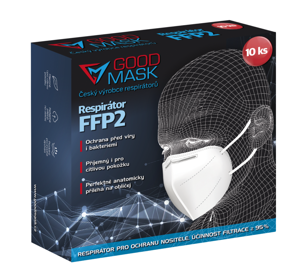 Respirátor Good mask GM2 FFP2 (10 ks)