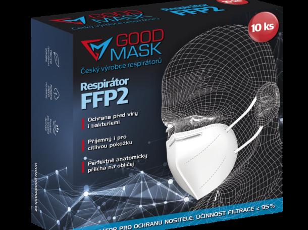 Respirátor Good mask GM2 FFP2 (10 ks)