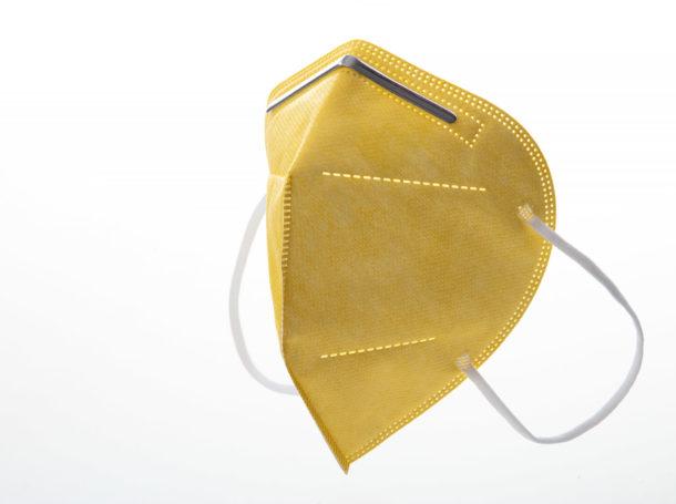 Respirátor FFP2 Good mask GM2 žlutý