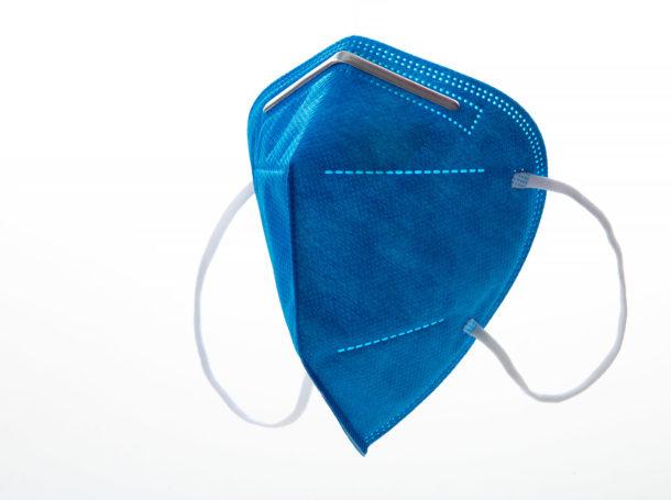 Respirátor FFP2 Good mask GM2 světle modrý