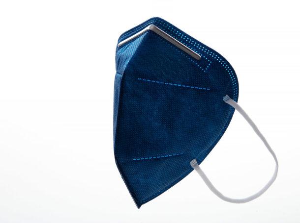 Respirátor FFP2 Good mask GM2 tmavě modrý
